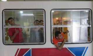 """""""Pela janela do ônibus!"""""""