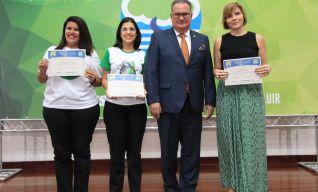 Empresa Vitória, Transportes Urbanos Aliança e Expresso Guanabara receberam os Títulos de Ação Inovadora 2017.