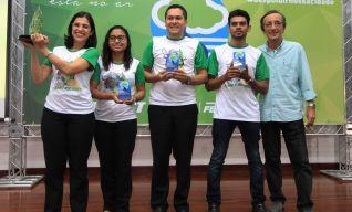 Expresso Guanabara, recebendo o Troféu PMQA – 2017.