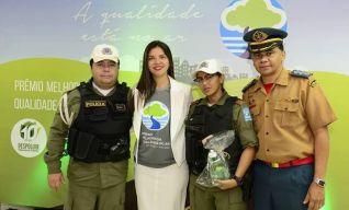 Polícia Rodoviária Federal do Estado do Piauí recebeu o troféu Destaque Ambiental 2017